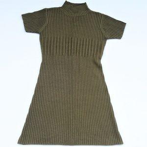 BP Knit Lambswool Sweater Dress Vintage M